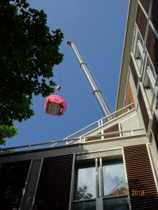 New 3T MRI Scanner Lands Safely at The London Clinic After Crane Drop Through Hospital Roof